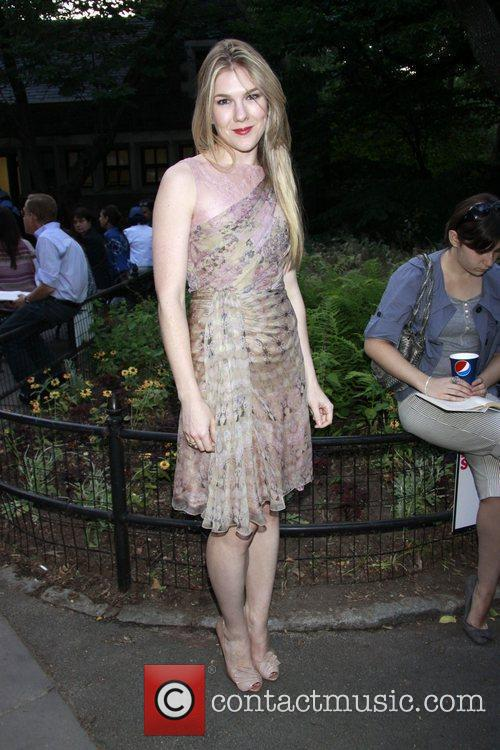 Lily Rabe Opening night of The Public Theater...