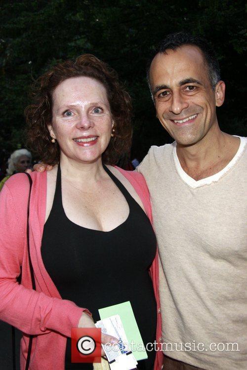 Maryann Plunkett and David Pittu Opening night of...