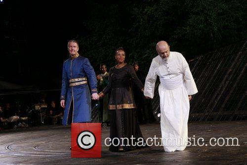 Byron Jennings, Marianne Jean-Baptiste, and Gerry Bamman Opening...