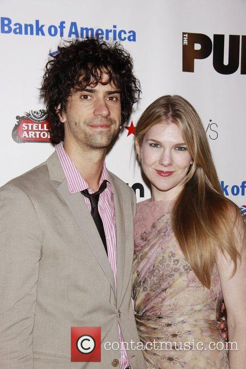 Hamish Linklater and Lily Rabe Opening night of...