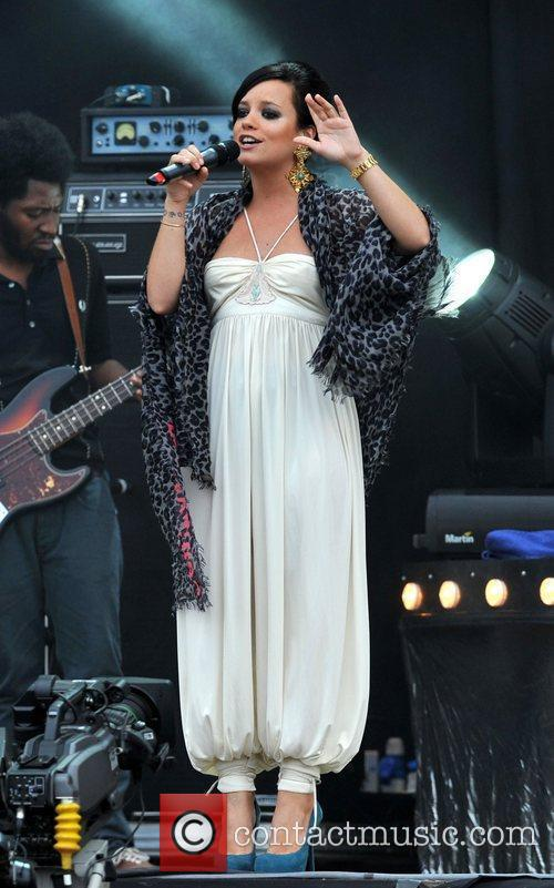 Lily Allen Wireless Festival held at Hyde Park...