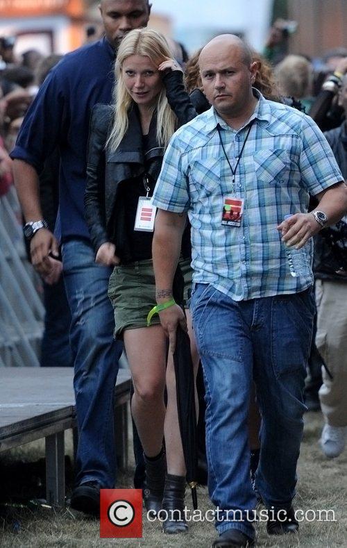 Gwyneth Paltrow Wireless Festival held at Hyde Park...