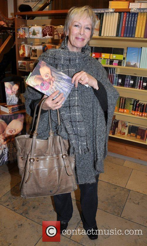 Geraldine Plunkett,  at a charity book signing...