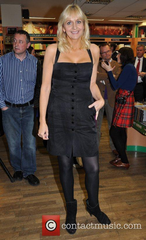 Miriam O'Callaghan,  at a charity book signing...