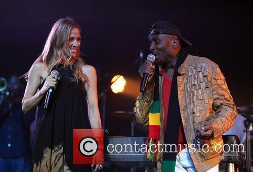 Sheryl Crow and Jimmy Cliff 2