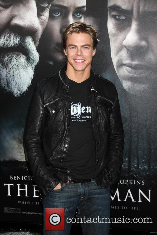 Derek Hough Premiere of 'The Wolfman' at ArcLight...