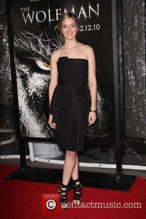 Caitlin Fitzgerald Premiere of 'The Wolfman' at ArcLight...