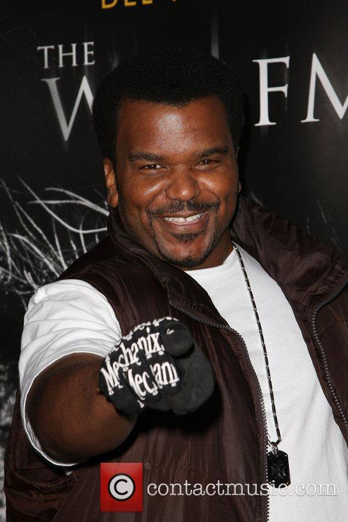 Craig Robinson Premiere of 'The Wolfman' at ArcLight...