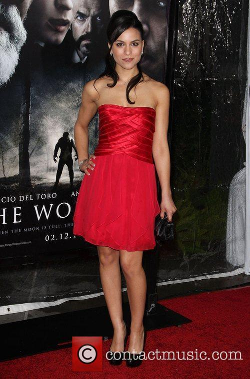 Maya Stojan Premiere of 'The Wolfman' at ArcLight...