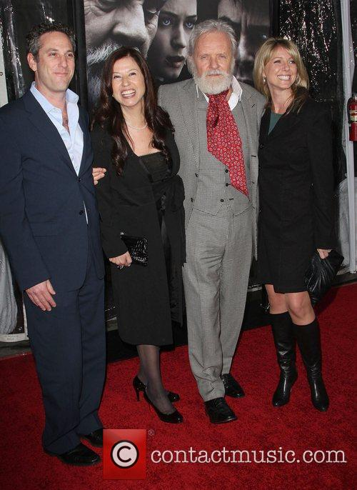 Stella Arroyave, Sir Anthony Hopkins and Family Premiere...