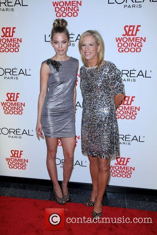AnnaLynne McCord and Self Editor-in-Chief Lucy Danziger...