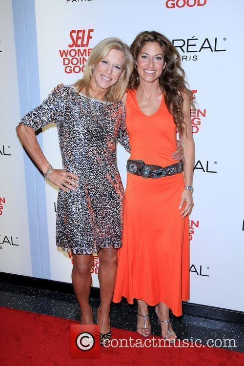 Self Editor-in-Chief Lucy Danziger and Dylan Lauren...
