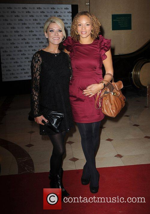 Zoe Lucker and Angela Griffiths The 2010 Sky...