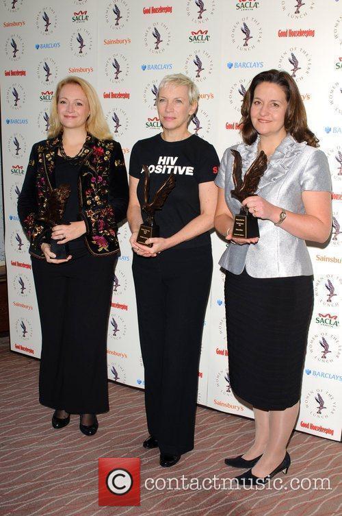 Suzie Hart, Annie Lennox and Shara Bruce The...