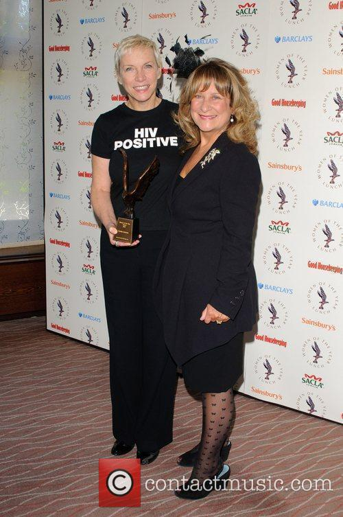 Annie Lennox and Baroness Helena Kennedy QC The...