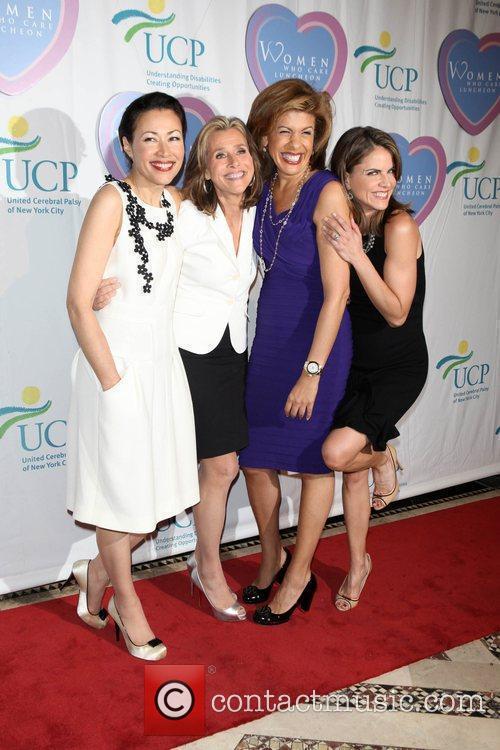 Ann Curry, Meredith Vieira, Hoda Kobt and Natalie...