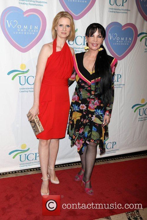 Cynthia Nixon and Loreen Arbus The 9th annual...