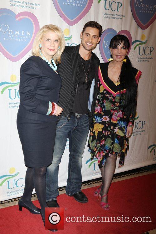 Francine LeFrak, Timothy Mandala and Loreen Arbus The...