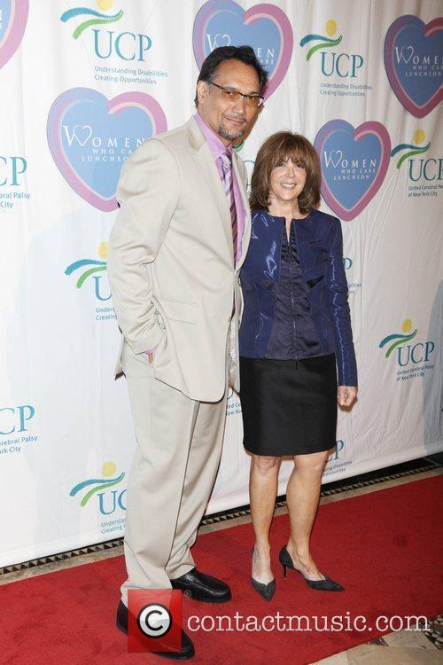 Jimmy Smits and Linda Kaplan Thaler 2
