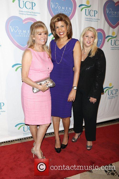 Kathie Lee Gifford, Hoda Kotb and Rita Cosby...