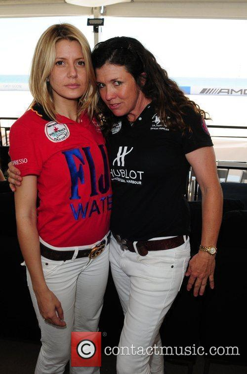 Plo player Julia Charquero and Dr. Valerie Buehl...