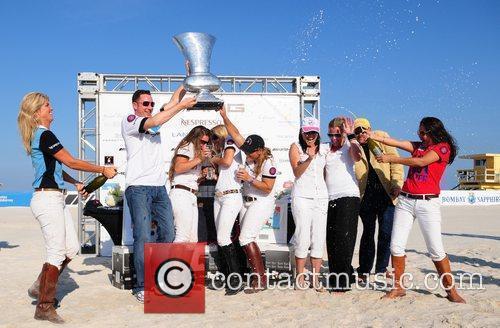AMG Polo winning circle 2010 AMG South Beach...