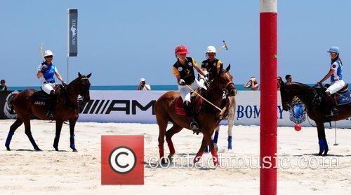 Polo players Bobette Martin, Tara Lordi, Angenita Grande...