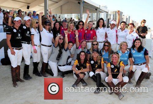Team members 2010 AMG South Beach Women's Polo...