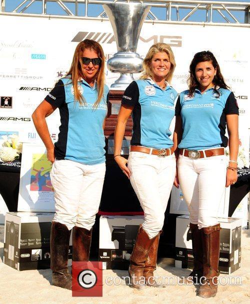 The Kahuna/Merchant Hub Polo players: Alina Carta, Melissa...