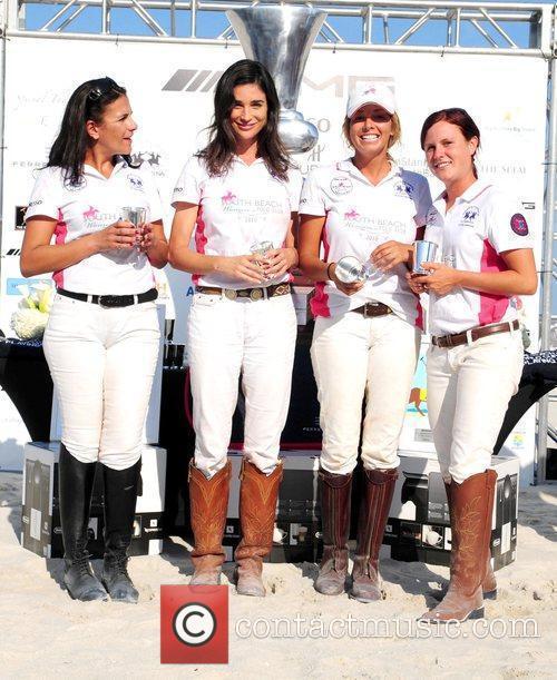 The W Hotel players: Ana Paula Disilva, Katherine...