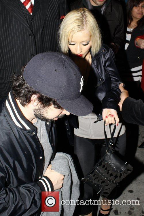 Christina Aguilera and Her Husband Jordan Bratman 9
