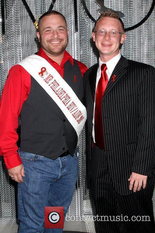 Bobby Townsend and Anthony Polimeni World Aids Day...