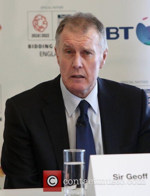 England 2018 World Cup bid - photocall and...