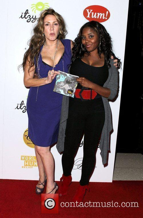 Joely Fisher and Shar Jackson Celebrities Show Support...
