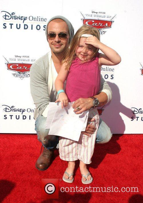 Joey Lawrence and daughter Charli Lawrence  Disney/Pixar...