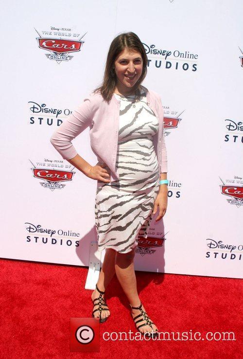 Mayim Bialik Disney/Pixar celebrates the launch of The...