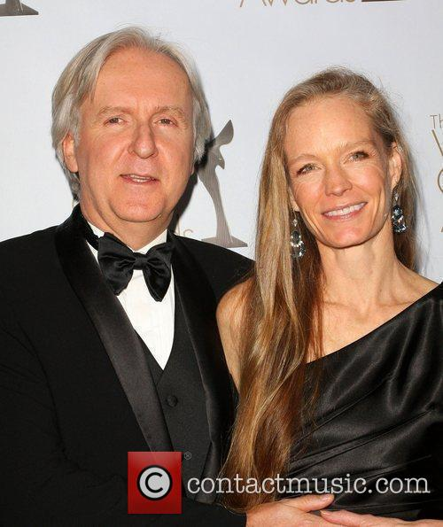 James Cameron, his wife Suzy Amis