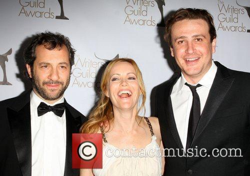 Judd Apatow, Leslie Mann and Jason Segel 1