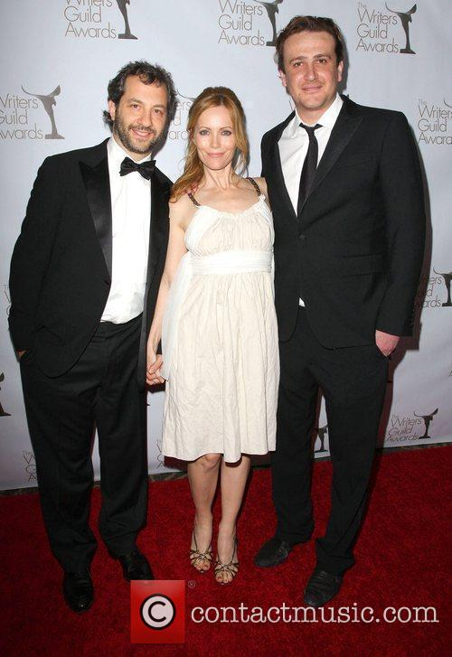 Judd Apatow, Leslie Mann and Jason Segel 2