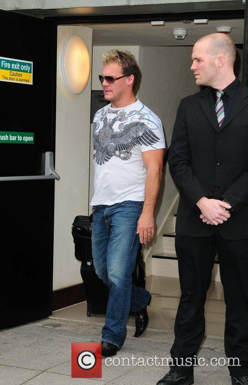 WWE star Jerico leaves his hotel  Manchester,...