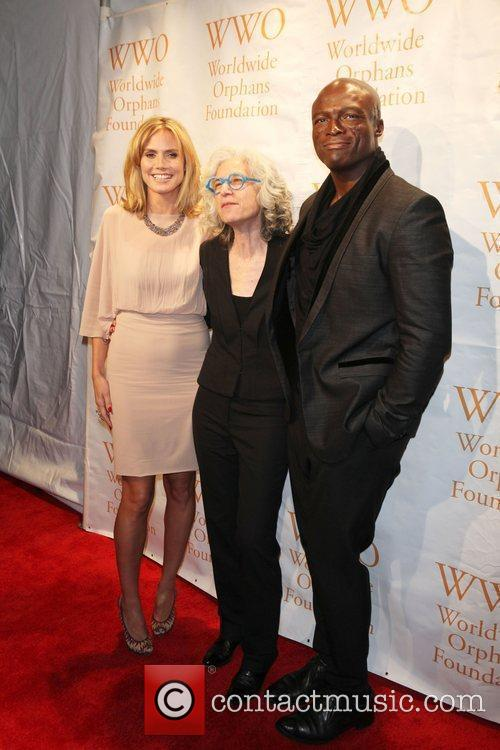 Heidi Klum, Seal and Wall Street 5