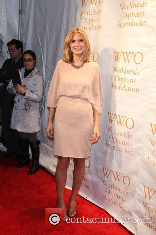 Heidi Klum, Seal and Wall Street 6