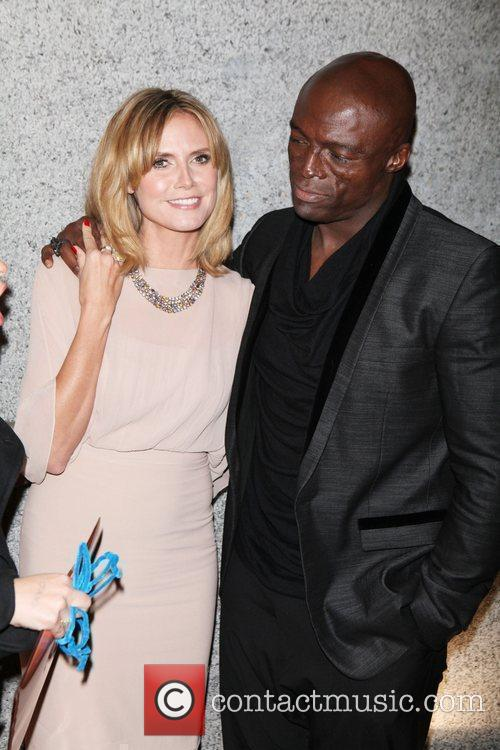Heidi Klum, Seal and Wall Street 3
