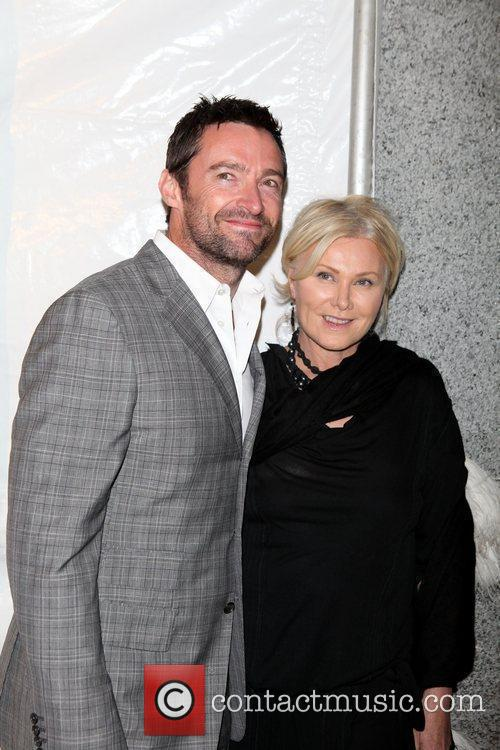 Hugh Jackman, Deborra-lee Furness, Heidi Klum, Seal and Wall Street 2