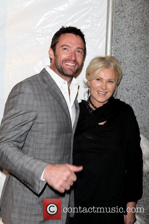 Hugh Jackman, Deborra-lee Furness, Heidi Klum, Seal and Wall Street 3