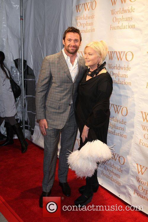 Hugh Jackman, Deborra-lee Furness, Heidi Klum, Seal and Wall Street 4