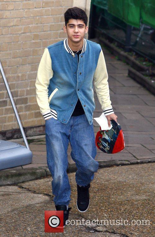 Zain Malik of 'One Direction' arrives at 'The...