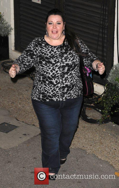 Mary Byrne leaves 'The X Factor' studios after...