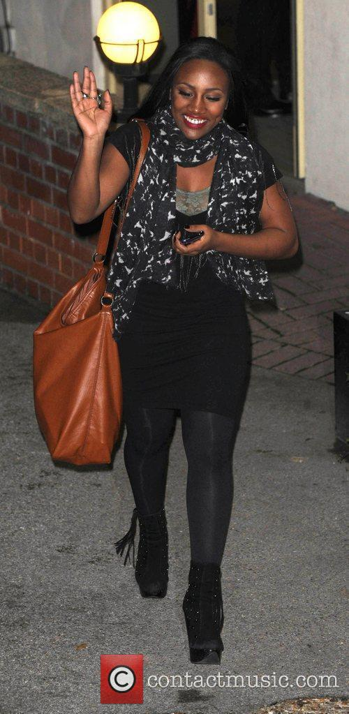 Treyc Cohen leaves 'The X Factor' studios after...