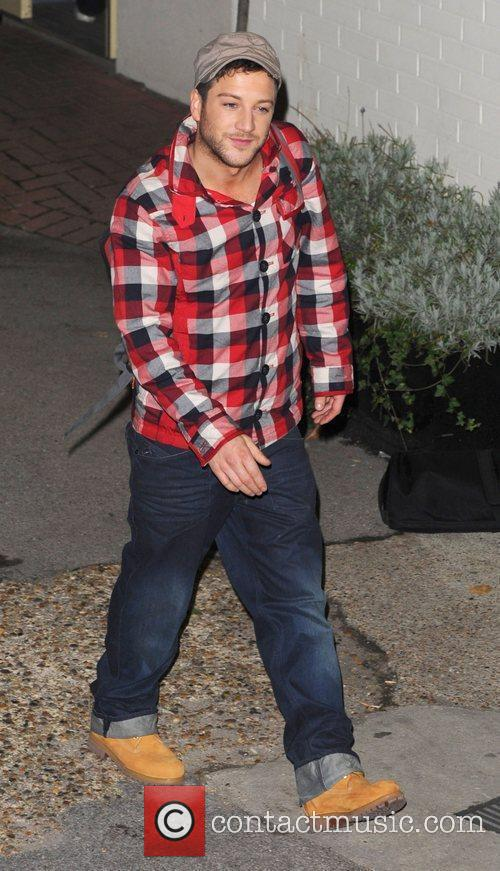 Matt Cardle leaves 'The X Factor' studios after...